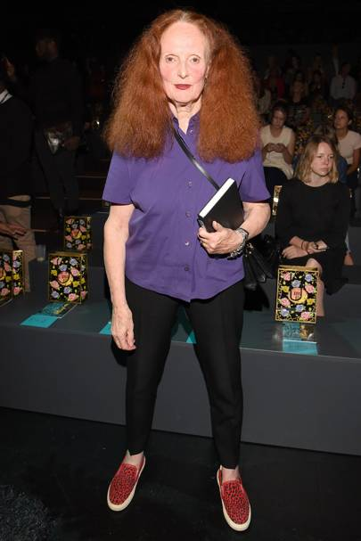 January: Grace Coddington resigns