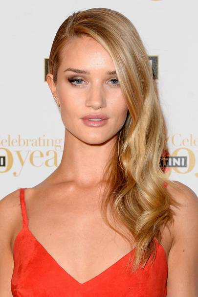 Rosie Huntington Whiteley Top Makeup And Hair Moments Glamour Uk