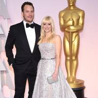 August: Chris Pratt and Anna Faris