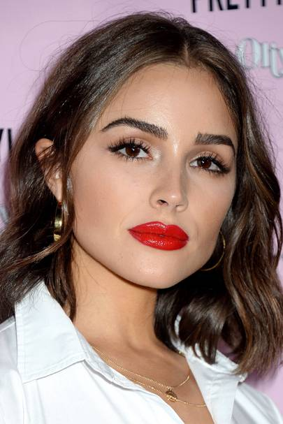The Best Red Lip Looks of 2016 — Celebrities Wearing Red ...