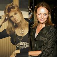 Linda McCartney and Stella McCartney, Age 32