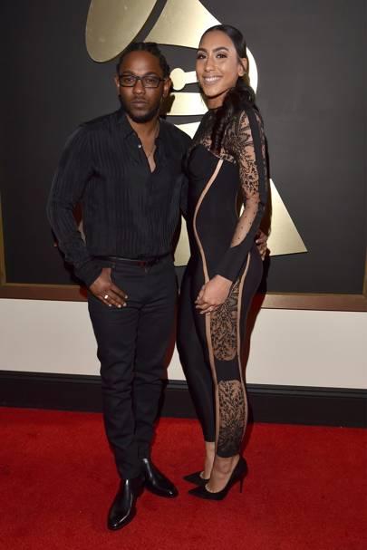 Kendrick Lamar & Whitney Alford