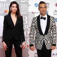 Robbie Williams is her celebrity crush
