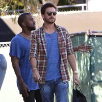 Kanye West & Scott Disick