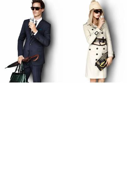 Cara Delevingne & Eddie Redmayne for Burberry
