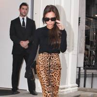 On Duty: Victoria Beckham