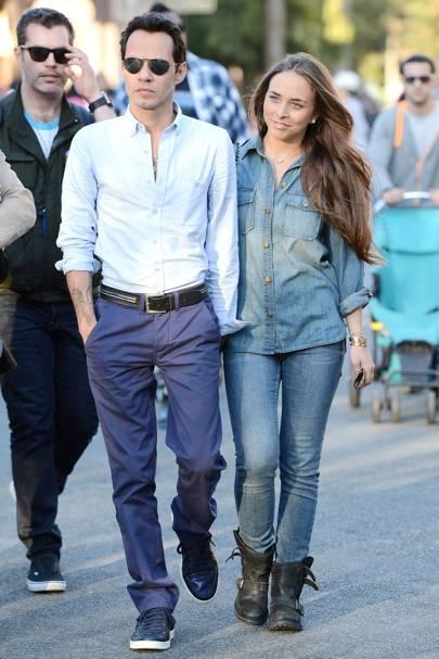 Marc Anthony & Chloe Green