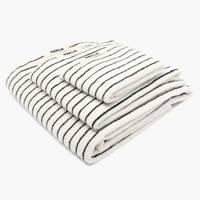 Organic cotton bath towels
