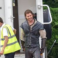 Chris Hemsworth in The Huntsman