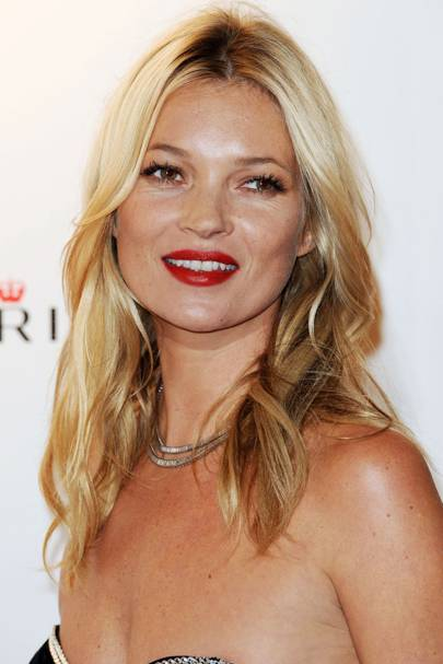 DO #9: Kate Moss is a bedhead beauty for Rimmel - September