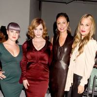 Kelly Osbourne, Christina Hendricks, Stacy Kiebler & Molly Sims