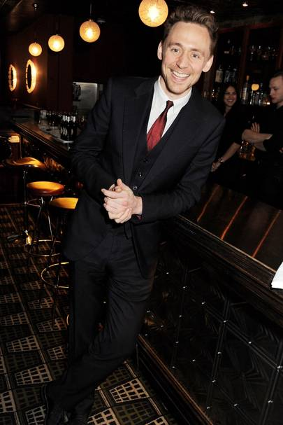 Best Dressed Man: Tom Hiddleston (Last year's winner)