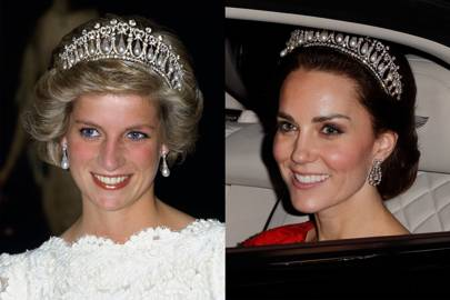 8. THE 'CAMBRIDGE LOVERS KNOT' TIARA