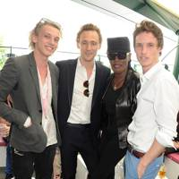 Eddie Redmayne, Grace Jones, Tom Hiddleston & Jamie Campbell Bower