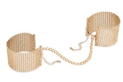 Désir Métallique Gold Mesh Handcuffs, £22
