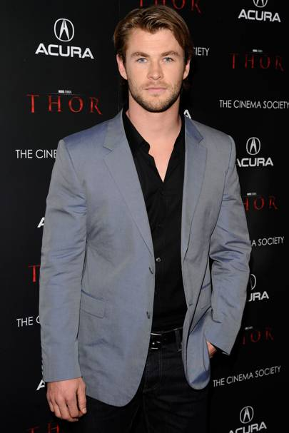 No 37: Chris Hemsworth