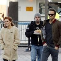 Sienna Miller & Ryan Reynolds in Mississippi Grind