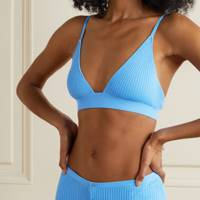 Best colourful ribbed bra