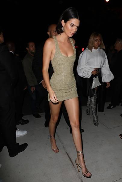 Portrait Kylie Jenner Calvin Klein