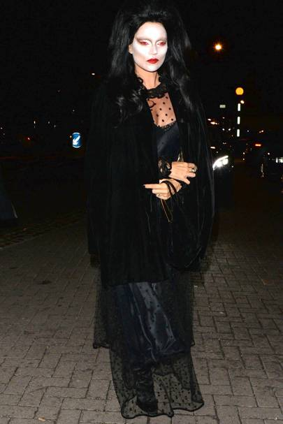 Kate Moss as a vampire