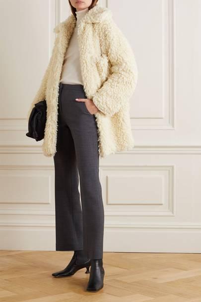Best winter coat faux shearling