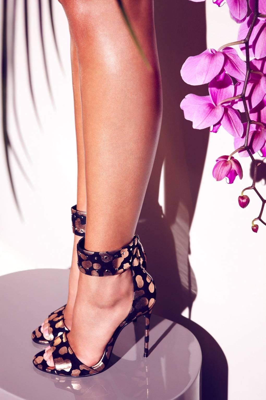 Chloe Jade Green SpringSummer 2014 Shoe Collection