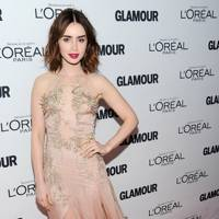 Lily Collins at the GLAMOUR Women of the Year Awards