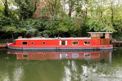 Houseboats in London to rent: Kings Cross