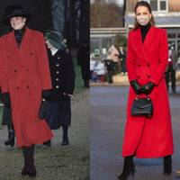 1. THE RED COAT OVER BLACK LAYERS