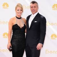 Matt LeBlanc and Andrea Anders