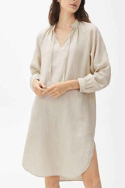 Linen dresses: Arket