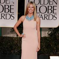 Heidi Klum at the Golden Globes 2012