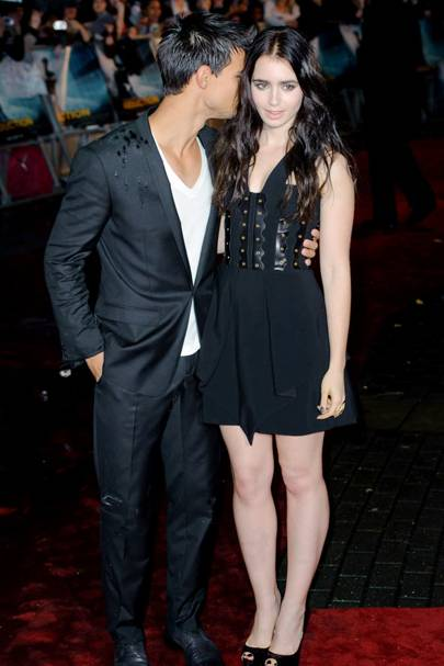 Taylor Lautner & Lily Collins