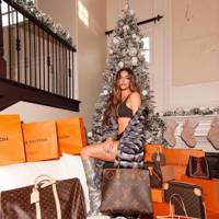 Khloe Kardashian's not so subtle designer Christmas tree