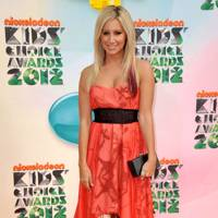 Ashley Tisdale at the Kids' Choice Awards 2012