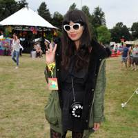 Jameela Jamil at V Festival