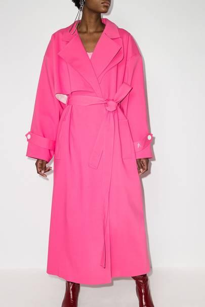 Best winter coat pink
