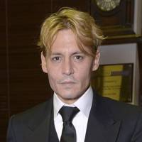 Johnny Depp goes blonde