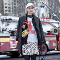 Laura Galvan, Stylist blogger, New York