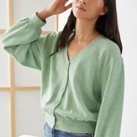 Best loungewear: the jersey cardigan