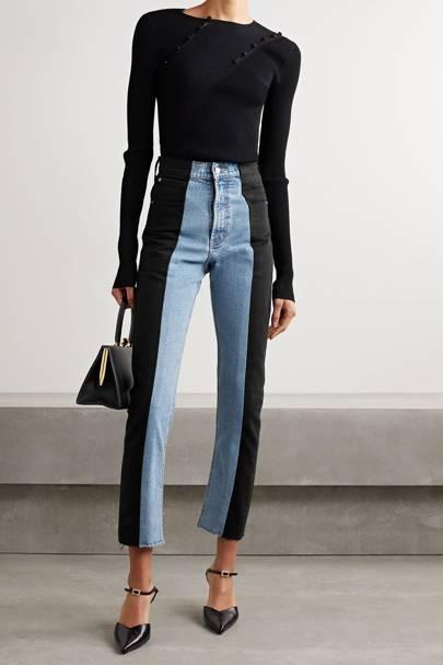 Best straight leg jeans: Upcycled denim