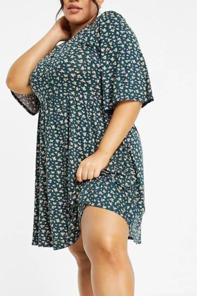 SUMMER DRESSES FOR BIG BOOBS: The Mini Swing Dress