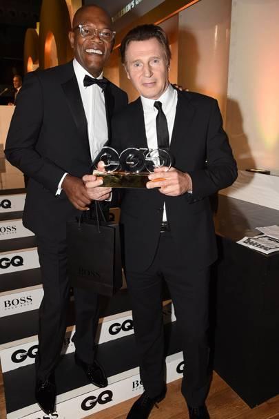 Samuel L Jackson & Liam Neeson