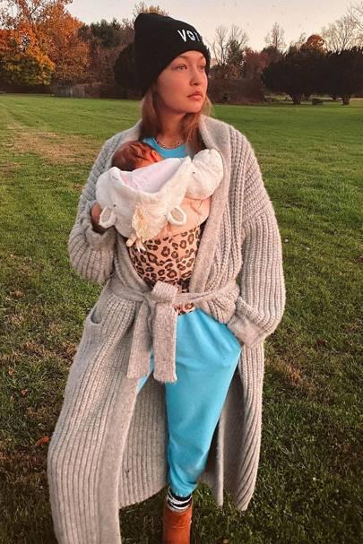Gigi Hadid & Baby Zigi