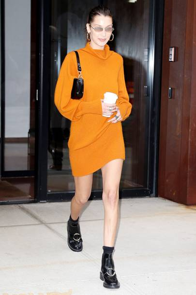 Bella Hadid gives us a lesson in how to wear THE colour of the season