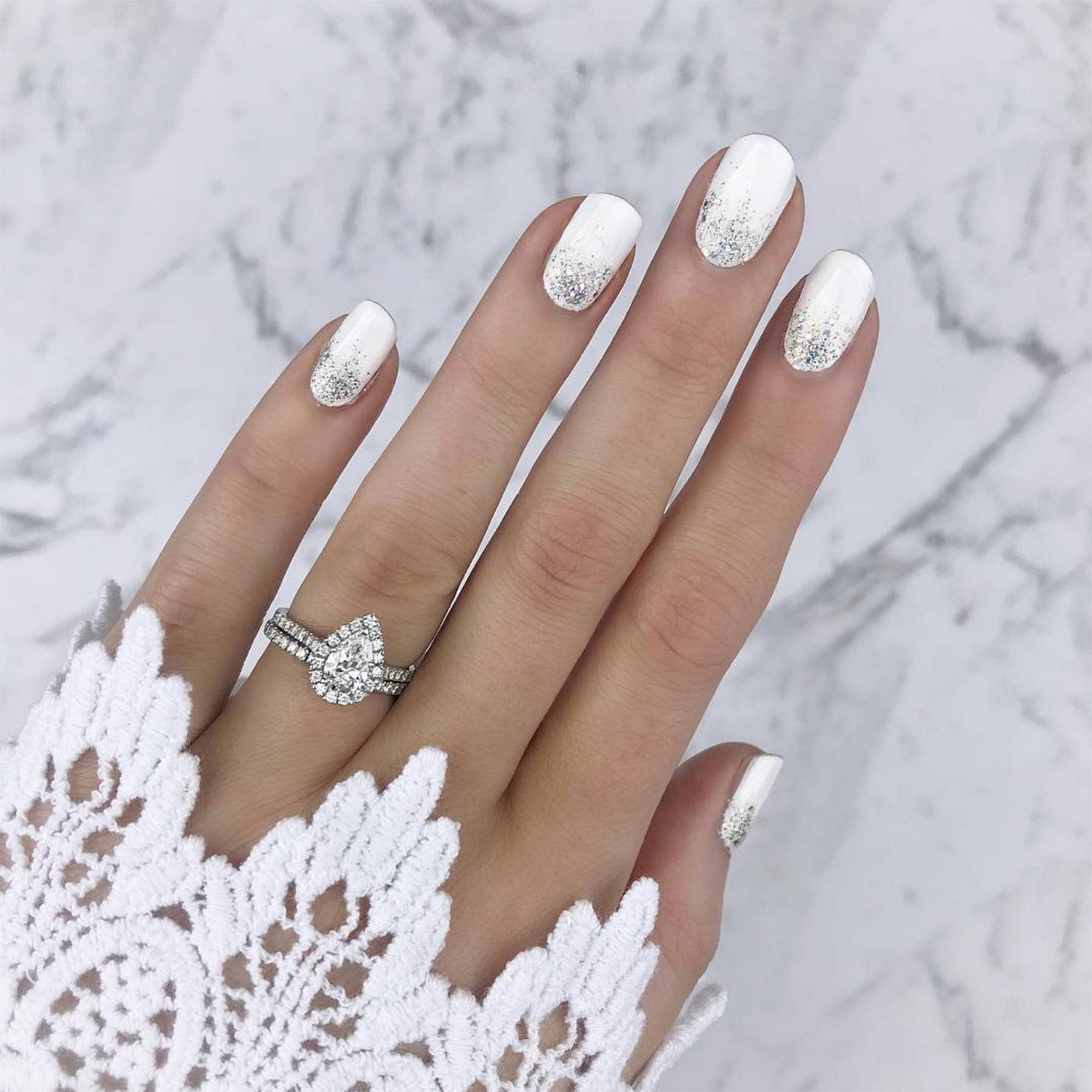 Wedding Nails: Beautiful Nail Art Ideas For Your Big Day | Glamour UK