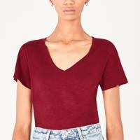 Best V neck t-shirts: American Vintage