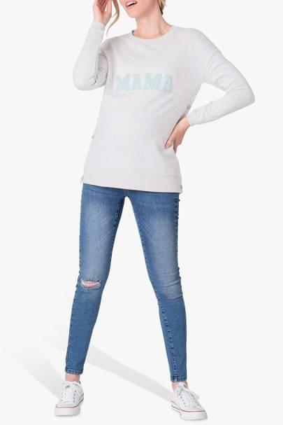 Best maternity sweatshirt