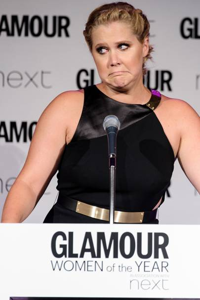 During her GLAMOUR Awards acceptance speech