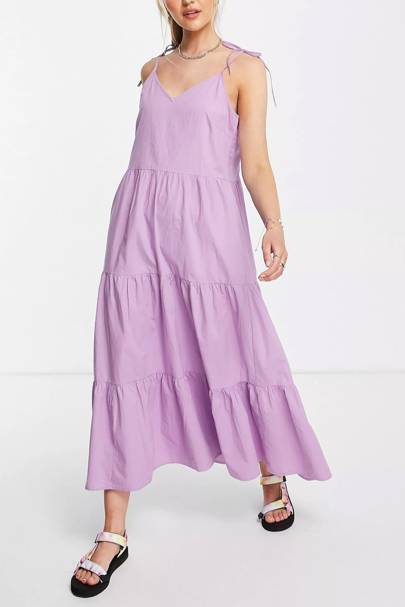 Purple ASOS dresses